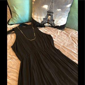 2 Piece Set: Little Black Dress & NWT Necklace
